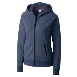 Clique Ladies' Lund Fleece Zip Hoodie